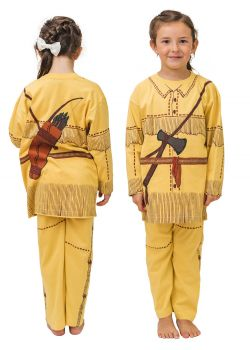 American Native Indian Costume Pajamas