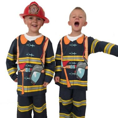 Firefighter Costume Pyjamas