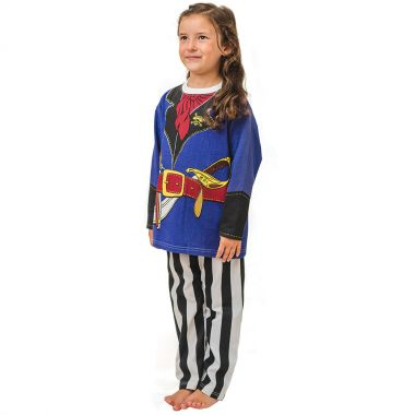 pirate costume pyjamas