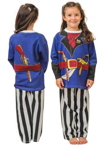 boys pirate roleplay costume